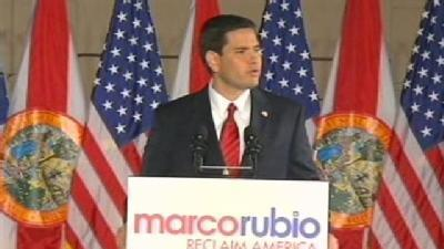 Rubio Gives Victory Speech