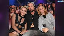Miley Cyrus' Tour Bus Caught On Fire