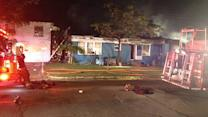 Man escapes burning SE Houston home just in time