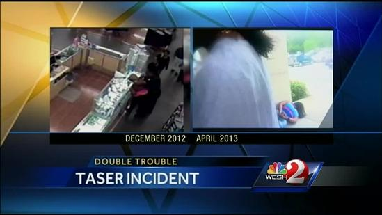 Police officer investigated for Taser use