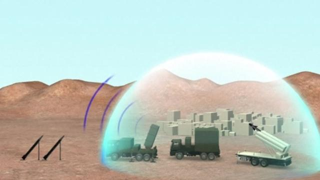 Israel's Iron Dome missile interceptor system