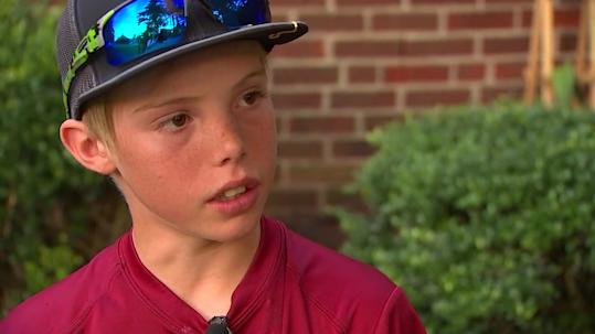 North Carolina boy whacks alleged robber with machete