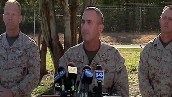 RAW VIDEO: Marine Corps news conference on training accident