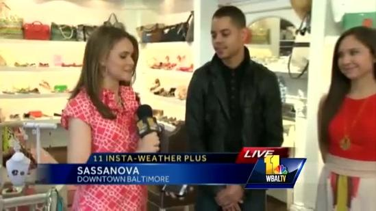 Ava previews FashionEasta show in Harbor East
