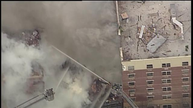 The Displaced: Hundreds Seek Shelter After Harlem Blast