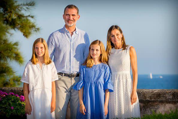 西班牙皇室全家福。