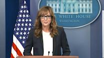 Allison Janney Stops by White House Press Briefing as CJ Cregg