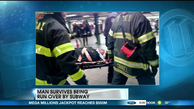 How Did A Man Survive Being Run Over By The Subway?
