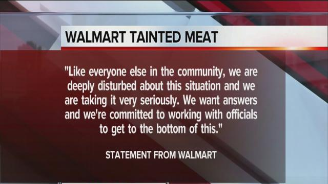 Walmart releases statement about LSD-tainted meat