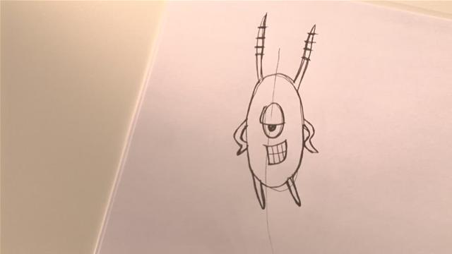 How To Draw Plankton From SpongeBob SquarePants