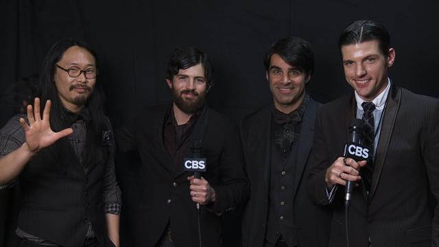 53rd Grammy Awards -  Thank You Cam: Avett Brothers