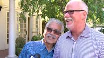 Gay Couple Ties the Knot After 26 Years