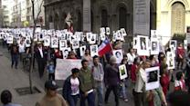 March in Chile marks 40 years since Pinochet coup