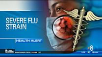 Severe flu strain hitting young, healthy adults