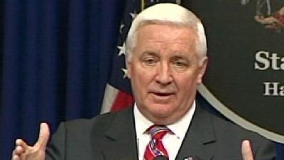 Governor Talks About Budget And Getting Started In First News Conference