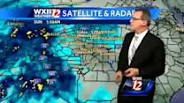 Easter Sunday weather will consists of gusty winds, storm chances and warmer