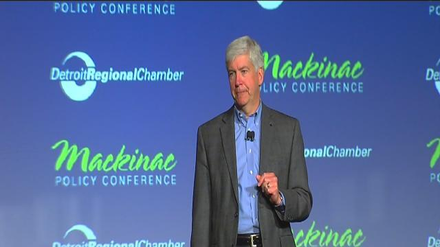 Mackinac Policy Conference: candidates fighting to represent Michigan in the U.S. Senate