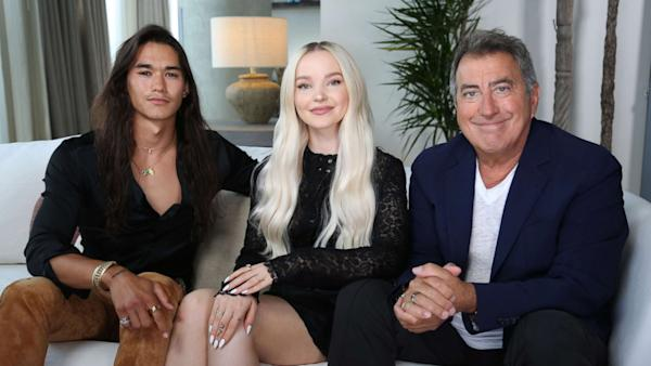 How the 'Descendants 3' cast became an 'extended family'