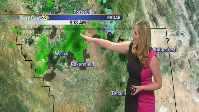 Gusting winds, rain, blowing dust & more