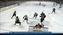 Richards sets up Willie Mitchell in front