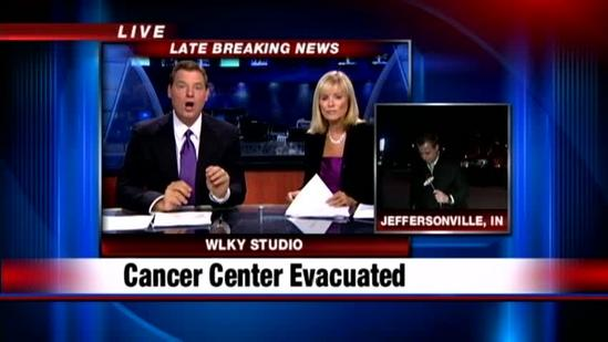 Bomb threat forces evacuation of cancer center