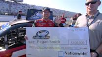 Smith earns first Dash 4 Cash check at Loudon