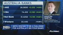 Why are Australian banks equities rising?