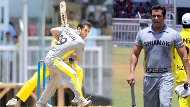 Salman Khan Turns Cricketer