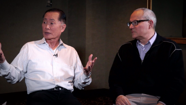 George and Brad Takei on 'To Be Takei'