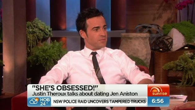 Justin Theroux break dances, Kourtney Kardashian reveals baby's sex