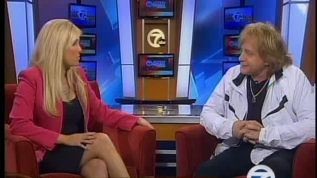 Eddie Money stops by 7 Action News This Morning