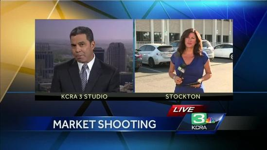 Man dies, 4 others hurt in Stockton market shooting