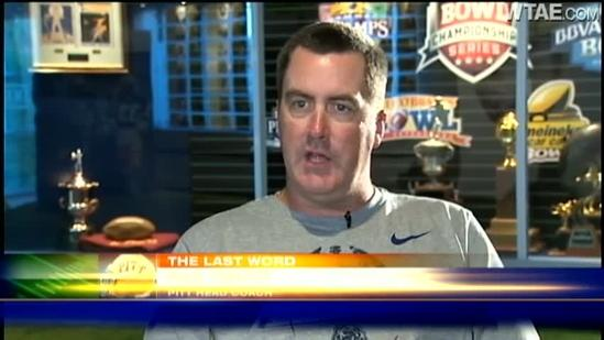 The Last Word with Pitt football coach Paul Chryst
