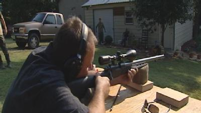 Sneak Peek -- Austin Shoots Muzzle Loader