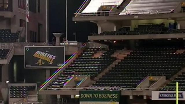 Woman Critically Injured After Plunging From Stadium Deck