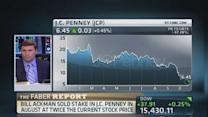 JC Penney briefly falls below $2 billion market value