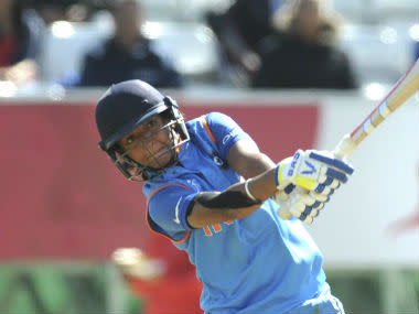 Harmanpreet Kaur is regarded as among the most powerful strikers of ball in women's cricket. AP