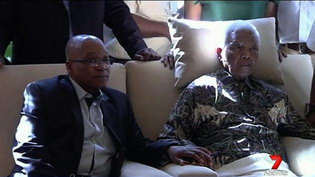 Mandela remains in critical condition
