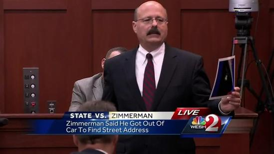Investigator: Zimmerman exaggerated the way he was hit