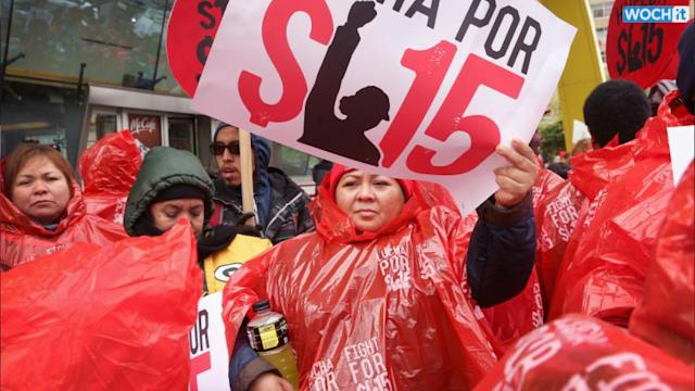 Fast Food Workers Vow Civil Disobedience