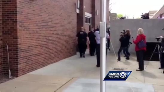 Watch: Quadruple homicide suspect walked out of court
