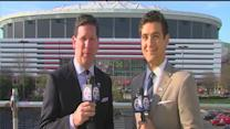 Tom Leyden and Brad Galli preview Michigan and Syracuse in the Final Four