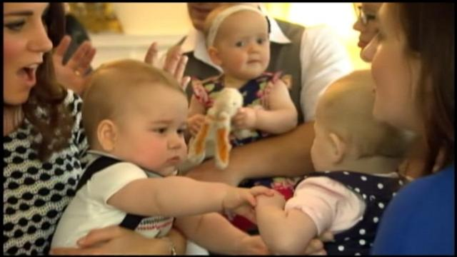 Inside Baby George's Adorable Royal Playdate