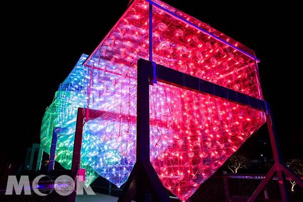 月津港燈節在台南市鹽水區月津港周邊登場。(圖/南市觀旅局,以下同)