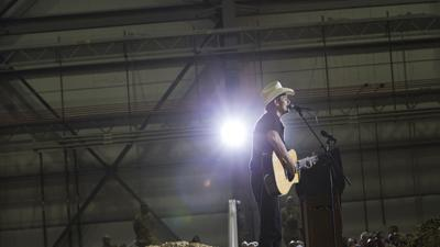 Brad Paisley Reunites With Army Officer