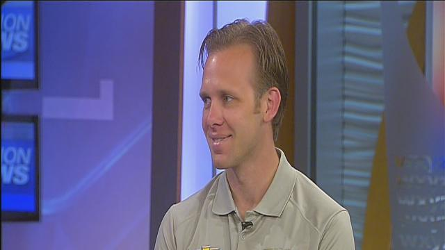 IndyCar driver Ed Carpenter talks Grand Prix on 7 Action News