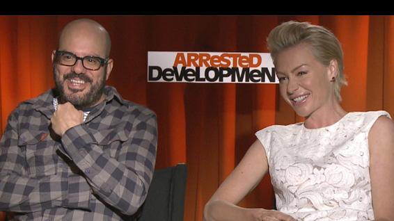 David Cross and Portia De Rossi Together Again On 'Arrested Development'