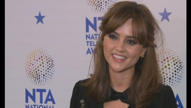 NTAs: Dr Who's Jenna-Louise Coleman thanks fans