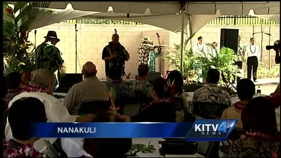 Affordable rental housing on Hawaiian homestead lands dedicated in Nanakuli