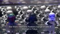 'Star Wars: The Force Awakens' toys hit Tokyo